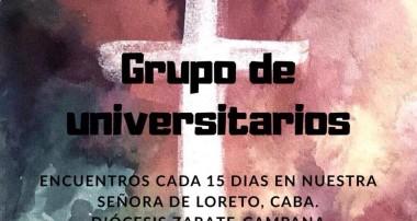 Invitación para los Universitarios que están en CABA