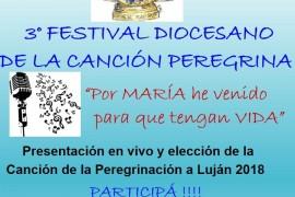 Concurso: canción de la Peregrinación a pie a Luján 2018   Diócesis de Zárate – Campana