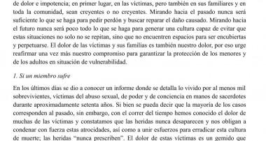 Comisión para la Protección de Menores:  tolerancia cero contra los abusos