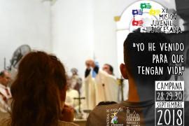 MISIÓN JUVENIL DIOCESANA 28,29 y 30 septiembre 2018 en Campana