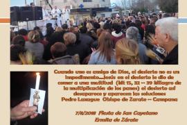 Palabras de Pedro Laxague en la fiesta de San Cayetano