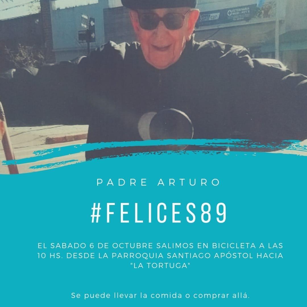 Sábado 6 octubre: 10 hs Bicicleteada desde Parroquia Santiago Apóstol de Baradero