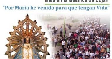 Canción de la 40° Peregrinación a Luján – Sábado 3 noviembre 2018