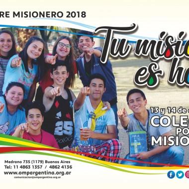 13 y 14 octubre Colecta por las Misiones