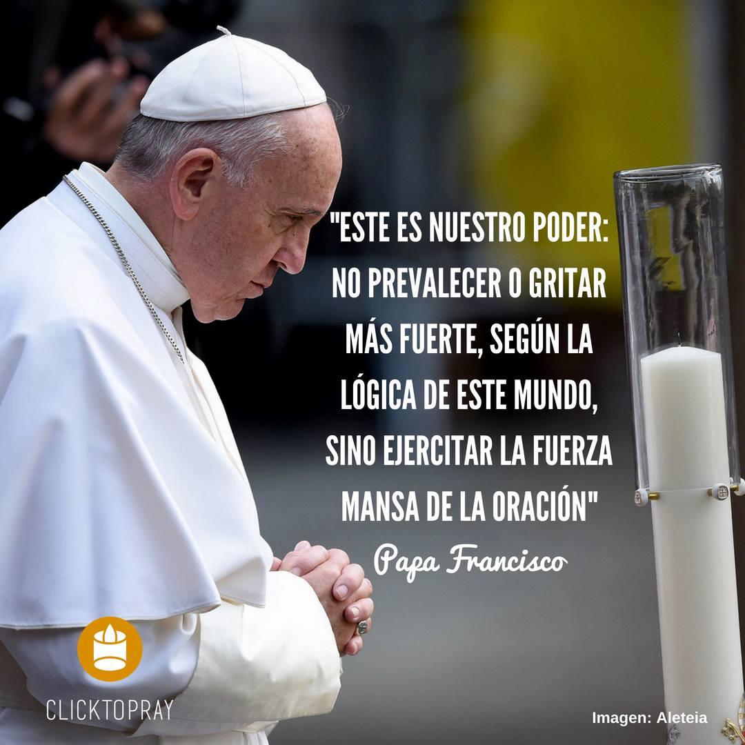 Video: Papa Francisco pide rezar el Rosario diario