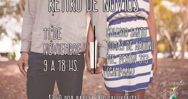 11 de Noviembre: Retiro de Novios. Colegio Santo Tomás de Aquino en Campana