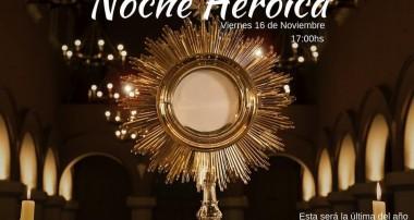 ¡El viernes 16 de Noviembre será la última Noche Heroica del año!