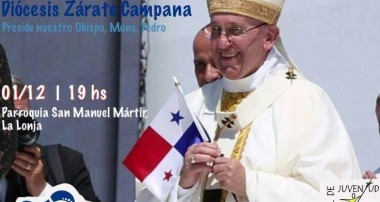 Sábado 1 de diciembre Misa de envío: Diócesis Zárate – Campana