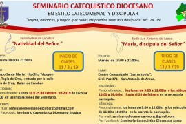 Seminarios Catequísticos Diocesanos – Año 2019