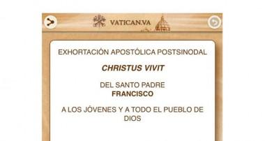 Descarga en pdf: Exhortación Apostólica del Papa Francisco sobre la Juventud Christus Vivit