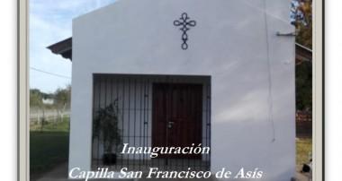 Inauguración de la Capilla San Francisco de Asis en Baradero
