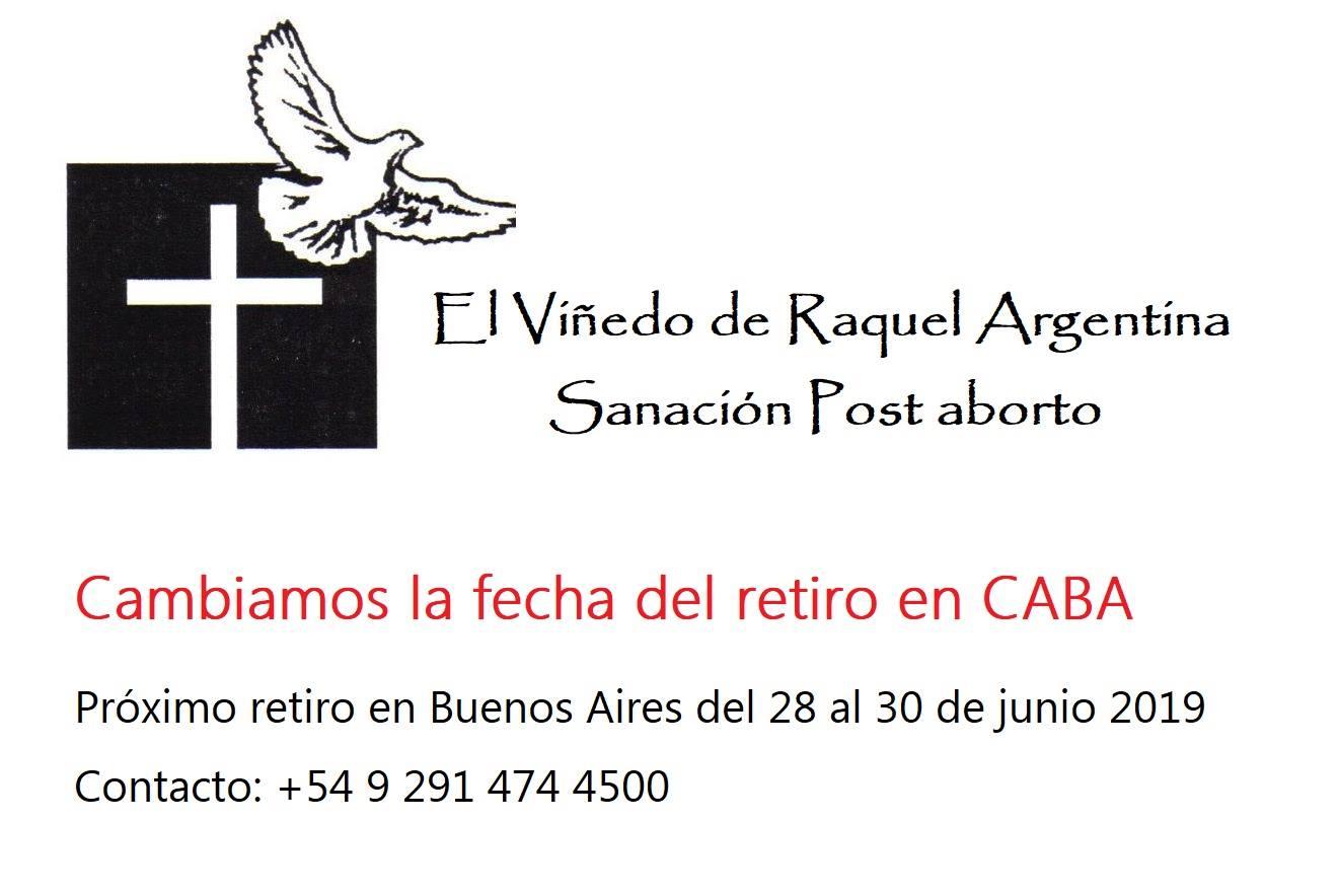 Retiro de sanación Post Aborto: mes junio en C.A.B.A.