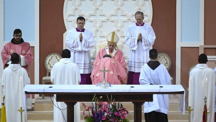 Misa del Papa en Marruecos: el amor de Dios es la mayor herencia del cristiano