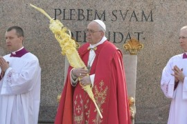 Papa a jóvenes: Crecer en fe y en servicio a hermanos