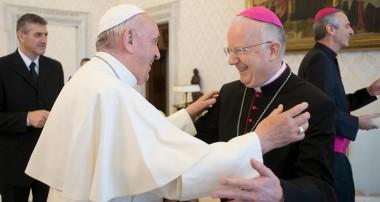 Obispos Región Buenos Aires se reunieron con el Papa Francisco