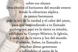 11 y 12 mayo: Colecta Seminario San Pedro y San Pablo