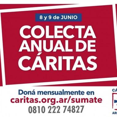 8 y 9 de junio: Spot Colecta Anual de Cáritas