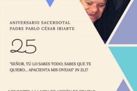 25° Aniversario Ordenación Sacerdotal Pablo Iriarte