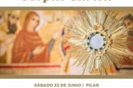 Sábado 22 de junio: Fiesta Diocesana de Corpus Christi