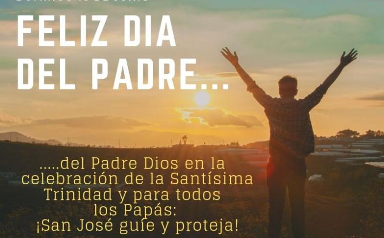 Domingo 16 de junio: ¡Feliz día del Padre!