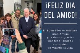 Saludo del Obispo por el Día del amigo