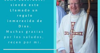 Nuestro Obispo cumple 30 años como sacerdote