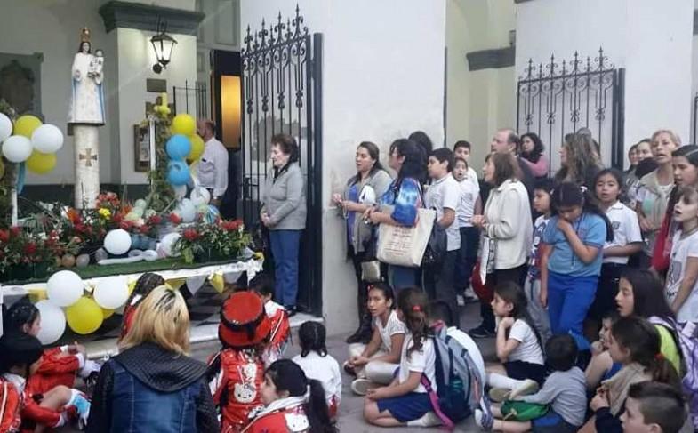 Saludo del Obispo por la Virgen del Pilar 12.10.2019