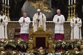 """El Papa: """"Se ha manifestado la gracia de Dios que salva al mundo"""""""