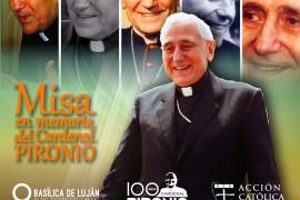 Domingo 2 de febrero 11 hs: misa en memoria Cardenal Pironio en la Basílica de Luján