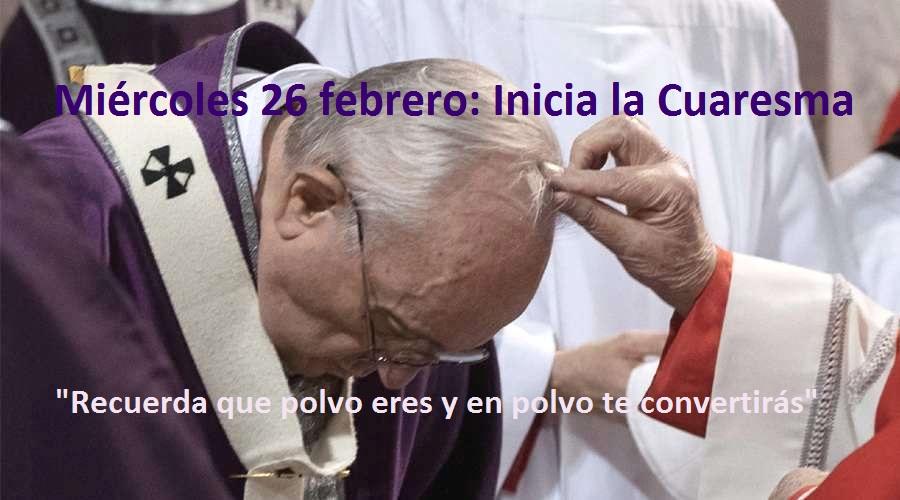 Papa Francisco: Mensaje para esta Cuaresma 2020