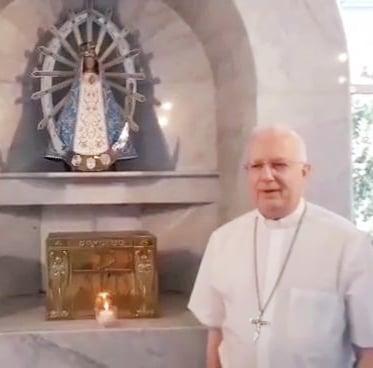 Audio Mensaje de nuestro Obispo Pedro Laxague con motivo de las festividades en estos días de mayo