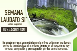 Video: Nos invita el Papa Francisco: Semana Laudato Si