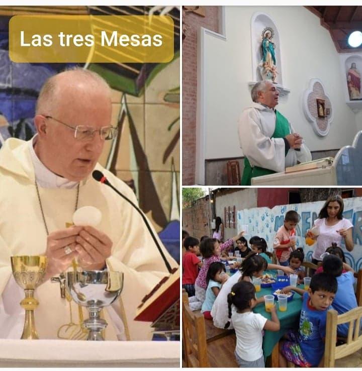 Las tres Mesas: Mensaje de Monseñor Pedro Laxague